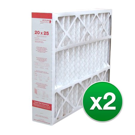 - 20x25x4 Air Filter Replacement for Honeywell AC & Furnace MERV 11 ( 2 Pack )
