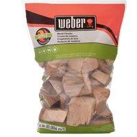 Weber Apple Wood Chunks, 350 Cu. In. bag