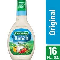 Hidden Valley Original Ranch Salad Dressing & Topping, Gluten Free - 16 oz Bottle