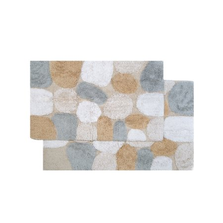 50% OFF: Chesapeake Pebbles 2Pc. Spa Bath Rug Set (21
