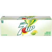 7UP Caffeine-Free Diet Lemon-Lime Soda, 12 Fl. Oz., 12 Count