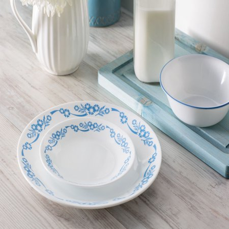 Corelle Livingware Cornflower 16-Piece Dinnerware Set