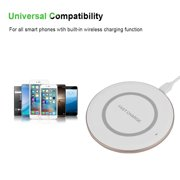 TOPINCN 10W Wireless Mobile Phone Charger Portable Qi Fast Wireless Charger 85% Wireless Charging Pad, Mobile Phone Chargers,Wireless Charging Pad