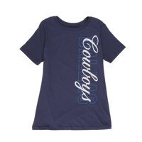 NFL Dallas Cowboys Women's Sheer Short Sleeve Tee Shirt