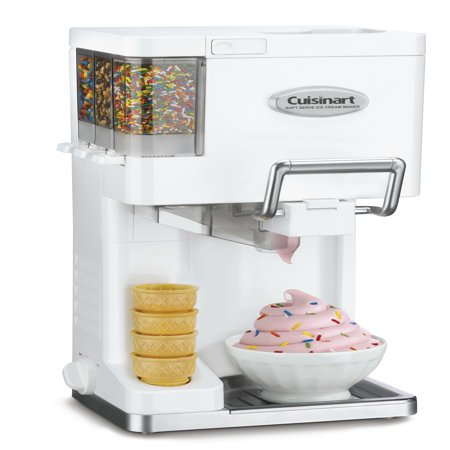 Cuisinart ICE-45 Mix It In Soft Serve 1-1/2-Quart Ice Cream Maker, (Best Store Bought Spumoni Ice Cream)