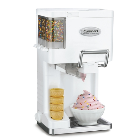 Cuisinart ICE-45 Mix It In Soft Serve 1-1/2-Quart Ice Cream Maker, - Pecan Ice Cream