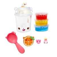 Num Noms Snackables Silly Shakes Rainbow Slushie Slime: Dig in the slime to find hidden Num Noms!