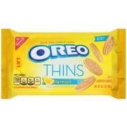 (2 Pack) Nabisco Oreo Thins Lemon Creme Sandwich Cookies, 10.1 oz