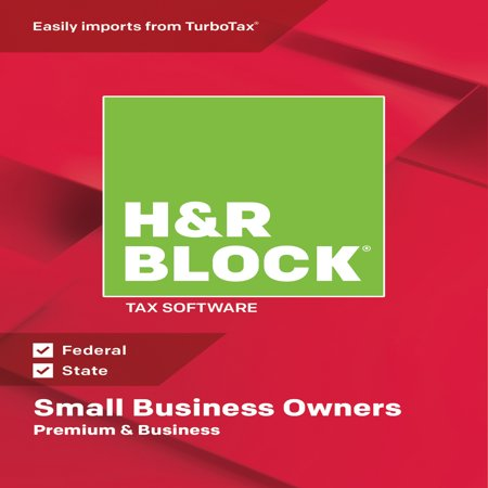 - H&R Block Tax Software 2018 Premium & Business Win (Email Delivery)