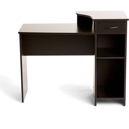 Sterling Drawer Secretary Desk (Mainstays Student Desk with Easy-glide Drawer, Multiple)