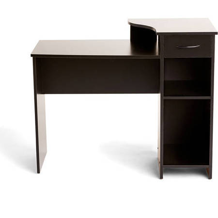 - Mainstays Student Desk with Easy-glide Drawer, Multiple Finishes