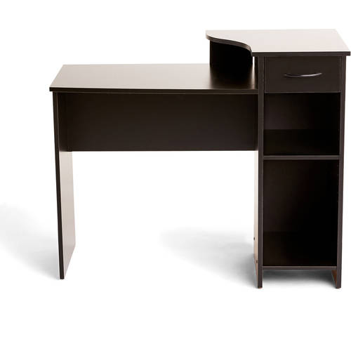 Mainstays Student Desk With Easy Glide Drawer, Multiple Finishes