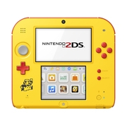 Nintendo 2DS System with Super Mario Maker (Pre-Installed), Yellow / Red, FTRSYBDW