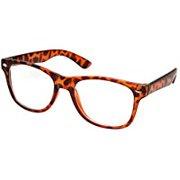 9678227ab272 Vintage Inspired Eyewear Original Geek Nerd Tortoise Clear Lens Horn Rimmed  Glasses