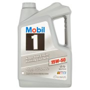 Mobil 1 15W-50 Advanced Full Synthetic Motor Oil, 5 qts