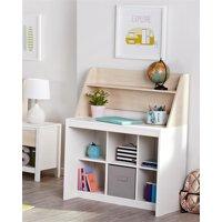 Novogratz Addison Kids Desk with Hutch, Natural