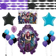 Descendants 2 Party Supplies Birthday Balloon And Streamers Decoration Kit