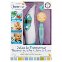 Summer Infant Ear Thermometer & Oral Thermometer Set