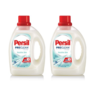 (2 pack) Persil ProClean Liquid Laundry Detergent, Sensitive Skin, 100 Fluid Ounces, 64 Loads