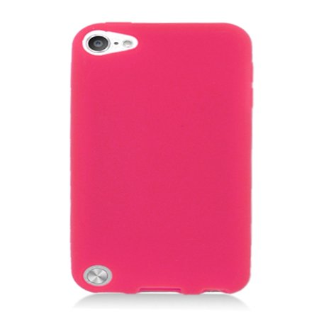 iPod Touch 6th Generation Case, iPod Touch 5th Generation Case, by Insten Rubber Silicone Soft Skin Gel Case Cover For Apple iPod Touch 5th (Ipod Touch Screen Cover)