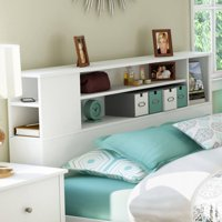 South Shore Vito Bookcase Headboard, Multiple Colors and Sizes