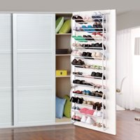Over-The-Door Wall Hanging 36-Pair Shoe Rack