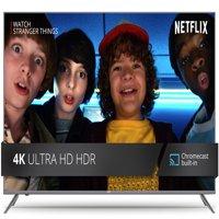 "JVC 49"" Class 4K Ultra HD (2160P) HDR Smart LED TV with Built-in Chromecast (LT-49MA875)"
