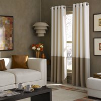 Colorblocked Grommet Curtain Panel