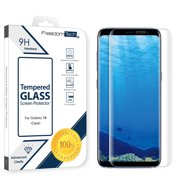 29d3b599d14 Samsung Galaxy S8 Screen Protector Glass Film Full Cover 3D Curved Case  Friendly Screen Protector Tempered
