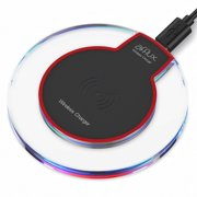 Qi Wireless Charging Pad Slim Charger Dock For Apple iPhone X iPhone 8 Plus  Samsung Galaxy d9111d27256