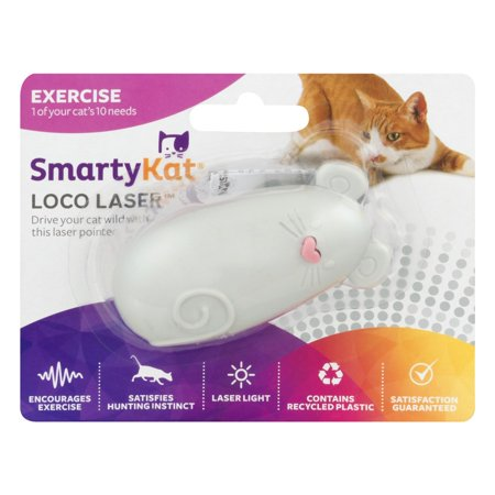 Smarty Kat Loco Laser Cat Toy