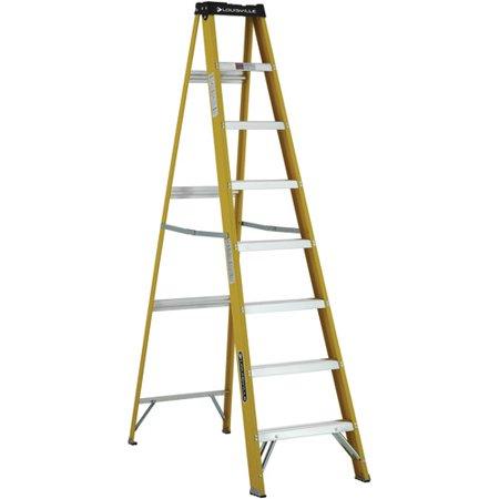Louisville Ladder 8 Ft Fiberglstep Ladder Type I 250 Lbs Load