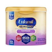 Enfamil Gentlease NeuroPro Baby Formula, 20 oz Powder Reusable Tub