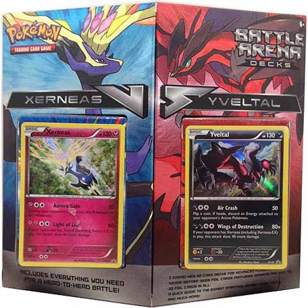 Pokemon Battle Arena X & Y Deck