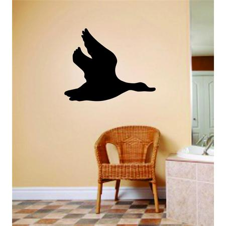 Custom Wall Decal Flying Duck / Geese Animals Graphics Bedroom Home Decor Vinyl Wall Stickers 14 X 14""