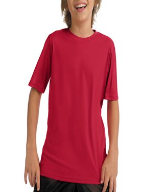 Boys' Short Sleeve CoolDri Performance Tee (50+ UPF Rating)