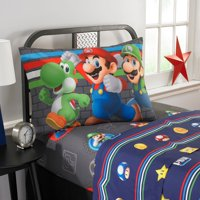 "Super Mario ""Trifecta Fun"" Kids Sheet Set"