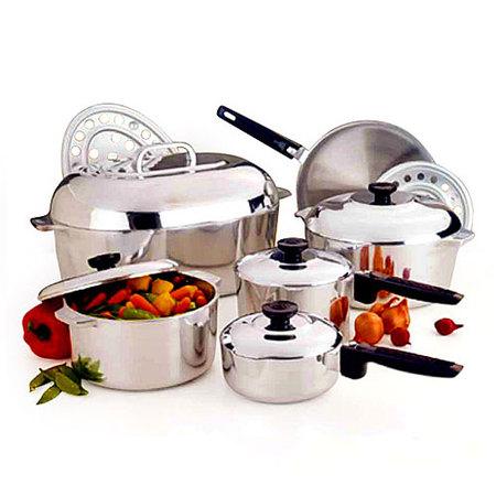 Cookware Cast - Magnalite Cast Aluminum Cookware Set, 13 Piece