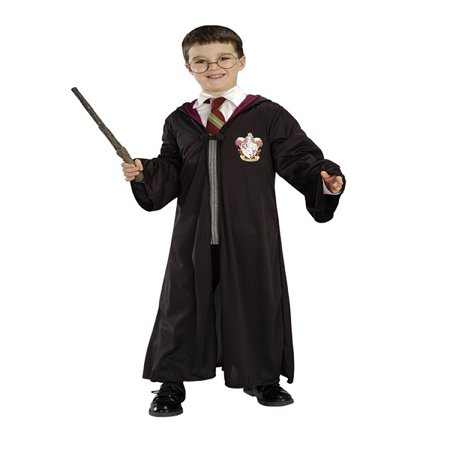 Harry Potter Child Halloween Costume (Kid Friendly Halloween Food)