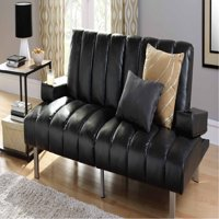 Mainstays Theater Futon with Cup Holders