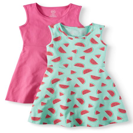 Sleeveless Play Dress, 2-Pack (Little Girls, Big Girls & Big Girls Plus) - Girls Dresses Size 8