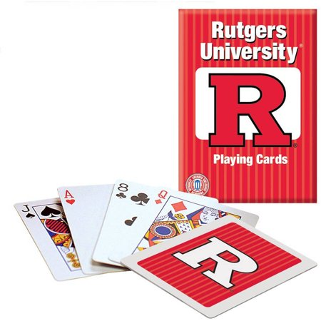 - Officially Licensed NCAA Rutgers Playing Cards