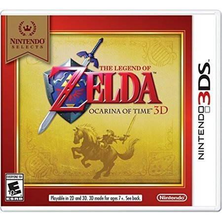 ocarina of time 3ds game