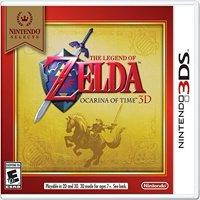The Legend of Zelda: Ocarina of Time 3D (Nintendo Selects), Nintendo, Nintendo 3DS, 045496743789
