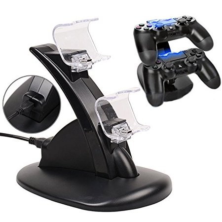 AGPtek Dual USB Charger for Sony PS4 Charging Station