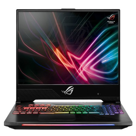 "Asus ROG Strix Hero II Gaming Laptop, 15.6"" 144Hz IPS-Type Slim Bezel, NVIDIA GeForce GTX 1060 6GB, Intel Core i7-8750H, 256GB PCIe SSD, 8GB RAM,"