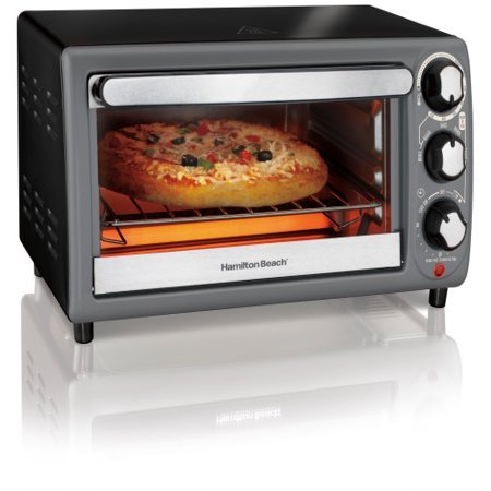 Hamilton Beach Toaster Oven In Charcoal | Model# (Best Convection Toaster Oven 2019)
