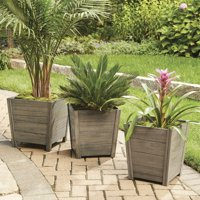 Better Homes and Gardens Cane Bay Outdoor Planter - Large