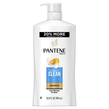 Quick Clean Waterless Shampoo - Pantene Pro-V Classic Clean Shampoo, 30.4 fl oz