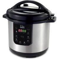 Elite Platinum EPC-813 8 qt Electric Stainless Steel Pressure Cooker, Black